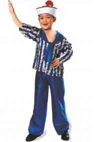 Costume di carnevale Marinaio da Bambino Marinaretto Blu