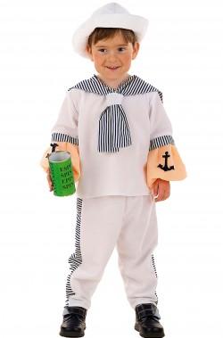 Costume carnevale Bambino Marinaio Braccio di Ferro