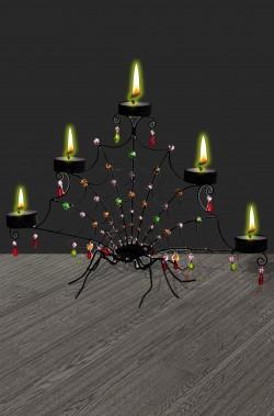 Portacandele candelabro a ragno