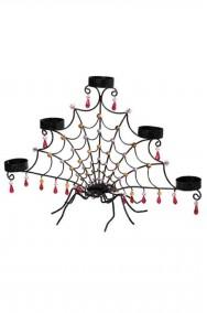 Portacandele candeliere halloween ragno