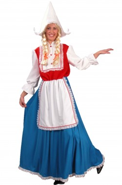 Costume donna olandesina adulta