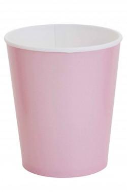 Party rosa bicchieri di carta confezione da 8, 266ml