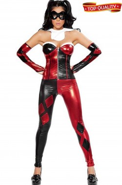 Costume cosplay donna Harley Quinn