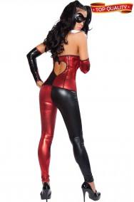Vestito cosplay da donna di Harley Quinn bellissimo