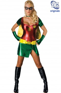 Costume Robin di Batman donna super eroina