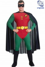 Costume Robin di Batman adulto