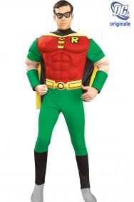 Costume Robin di Batman de luxe con muscoli