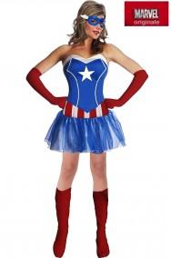 Costume Capitan America Donna Marvel