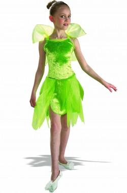 Costume di Trilli Tinkerbell Campanellino da bambina