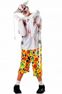Clown Horror costume uomo pagliaccio Kill Joy
