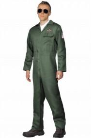 Costume tuta da pilota Maverick di Top Gun o elicotterista
