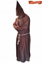 Costume da Frate o Monaco saio di qualita' teatrale con pellegrina