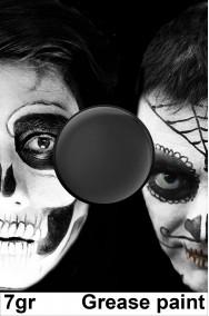Trucco teatrale colorato nero