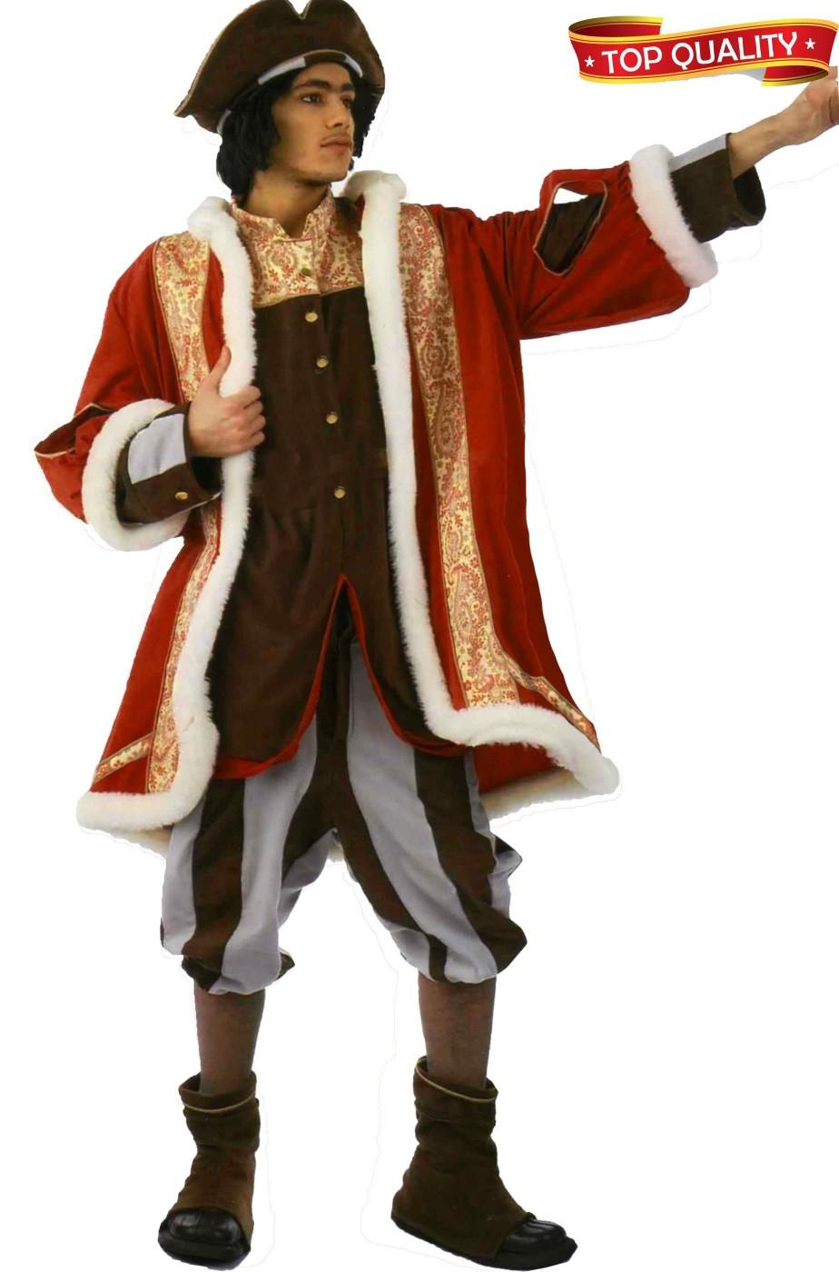 Vestito da Cristoforo Colombo adulto
