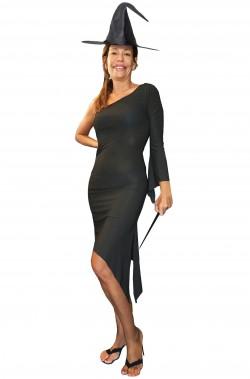 Costume da strega donna adulta elasticizzato
