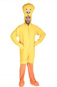 Costume Titti il canarino mascotte confortevole con testa morbidissima