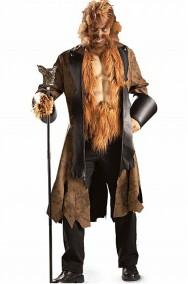 Costume uomo lupo, licantropo, bestia