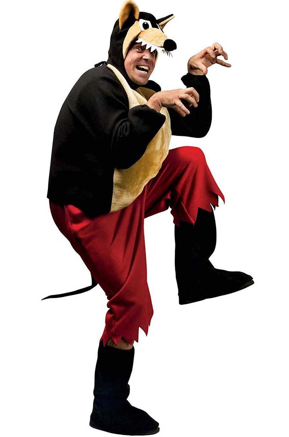 godere del prezzo di liquidazione scegli l'autorizzazione check-out Vestito di carnevale da lupo di cappuccetto rosso talia unica adulto