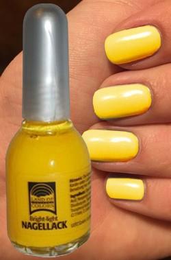 Smalto per unghie giallo per nail art 15 ml
