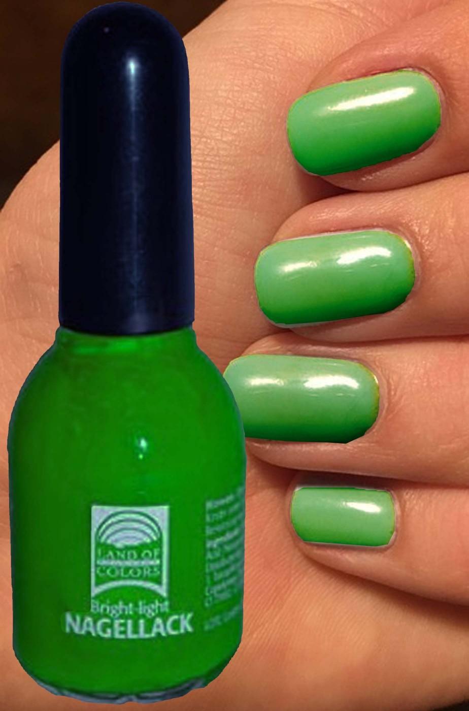 Smalto per unghie verde muschio nail art strega 15 ml