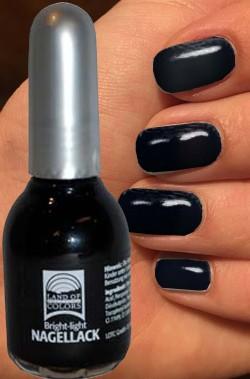 Smalto per unghie nero strega nailart 15 ml