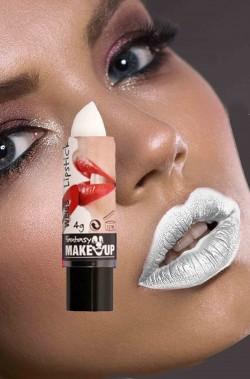 Rossetto bianco opaco per labbra
