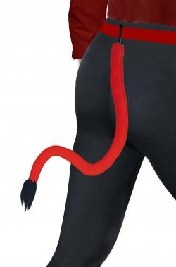 Coda Diavolo Extra Lunga 80 cm con punta a ciuffo