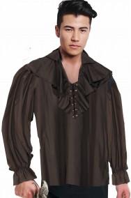 Camicia pirata nera