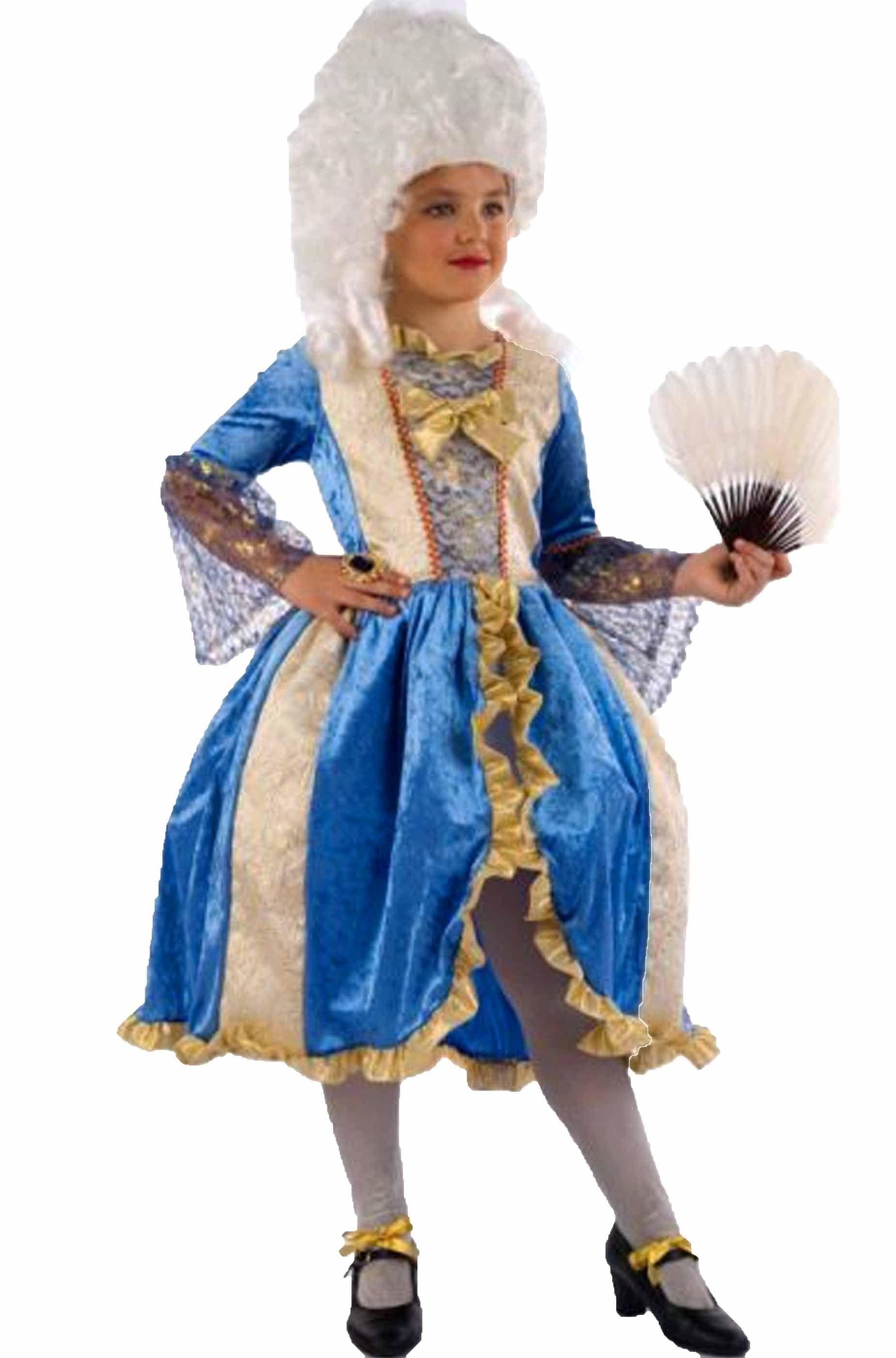 piuttosto carino ultimo design più tardi Vestito di carnevale stile veneziano da bambina dama del 700 de luxe