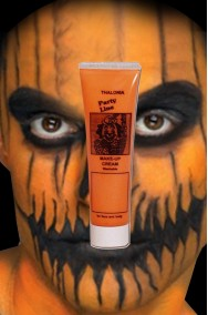 Trucco teatrale Kryolan arancione in tubetto aqua color 20ml