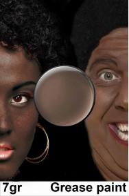 Trucco teatrale e carnevale marrone scuro in cialda 7 grammi