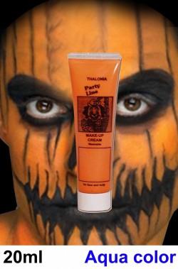 Trucco teatrale Kryolan tubetto aqua color 20ml arancio