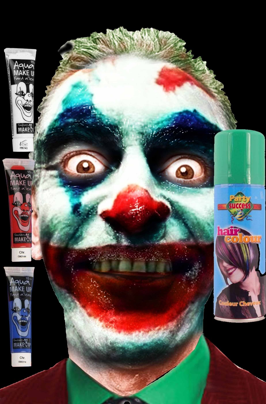 Set trucco Joker di Joaquim Phoenix
