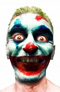 Set trucco halloween il Joker di Joaquim Phoenix