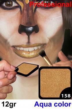 Trucco viso e corpo makeup body oro