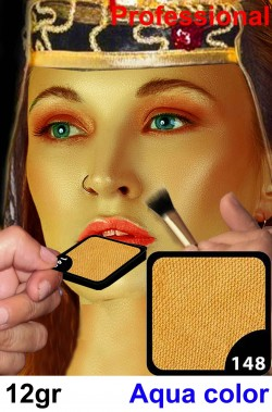 Trucco Professionale oro pallido viso e corpo