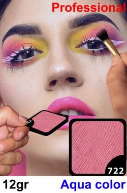 Trucco Professionale Aqua Color Cialda 12gr Rosa Camelia