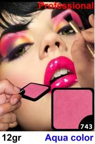 Trucco teatrale rosa fucsia pigmento alta qualita'