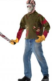 Set costume di Jason Voorhees di Venerdi' 13 adulto