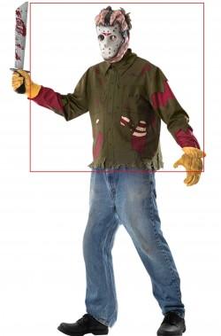 Set per vestito halloween ragazzo Jason Voorhees di Venerdi' 13