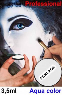 Trucco Teatrale cialda acqua color 3,5 ml bianco perlato