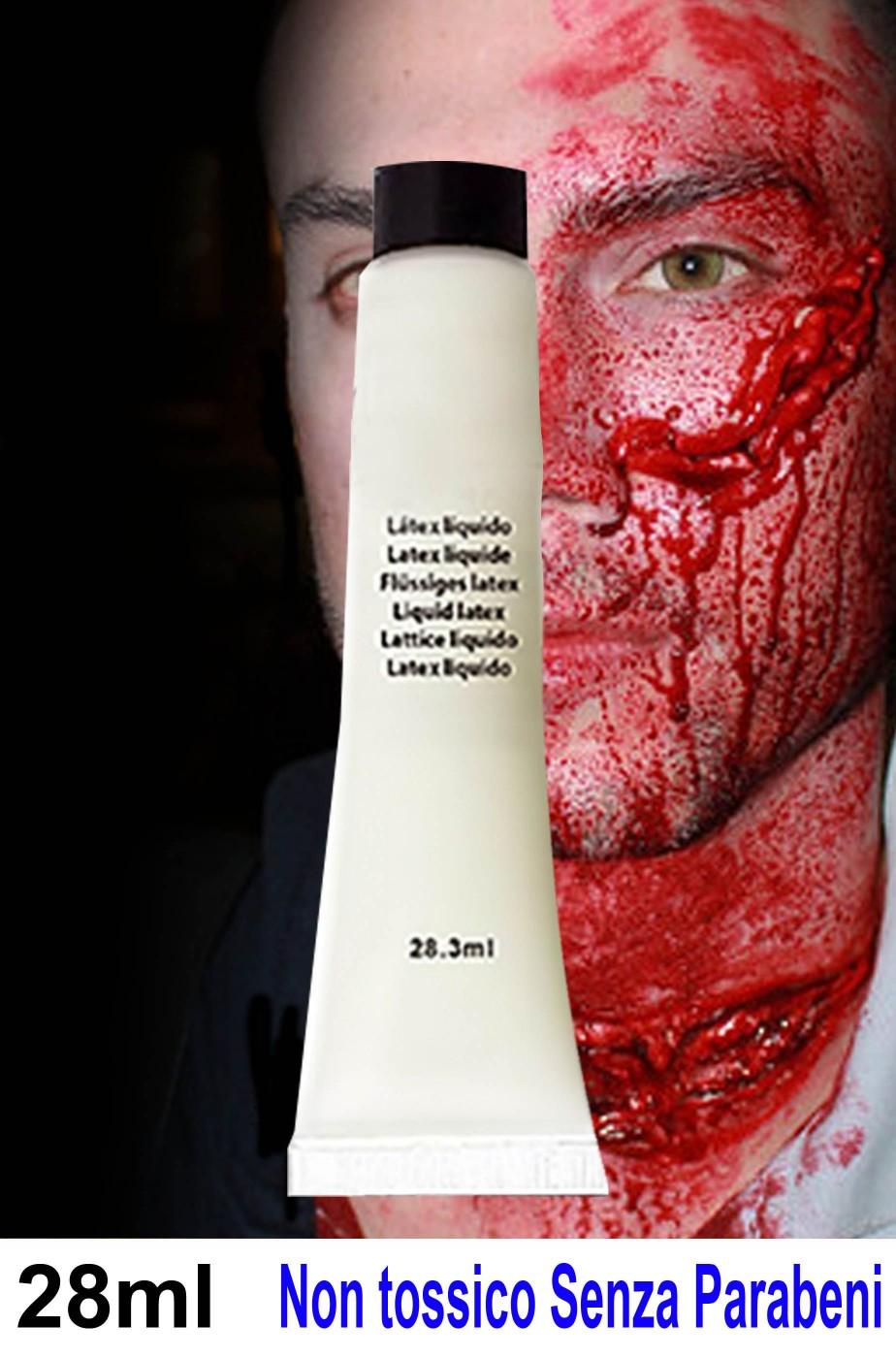 Lattice liquido per trucco halloween e ferite dell'orrore