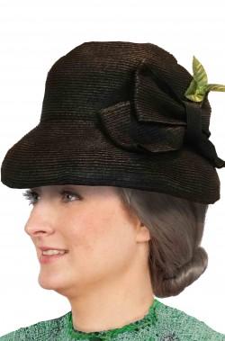 Cappello donna anni 40 seconda guerra mondiale stile regina Elisabetta