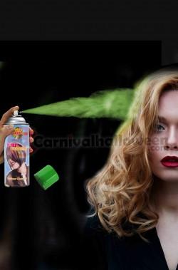 Colore per capelli spray lacca colore verde