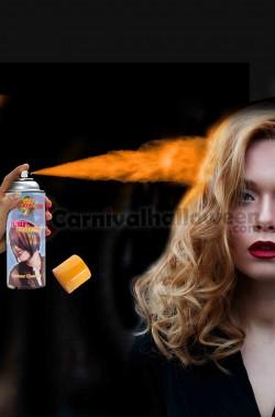 Colore per capelli spray lacca color arancione