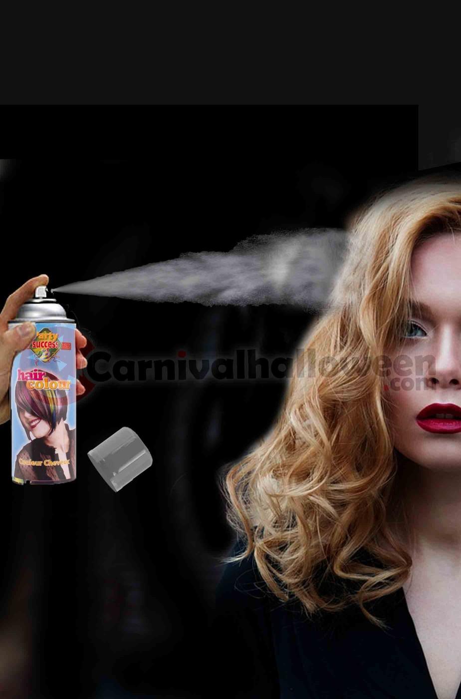 Colore per capelli spray lacca colore grigio