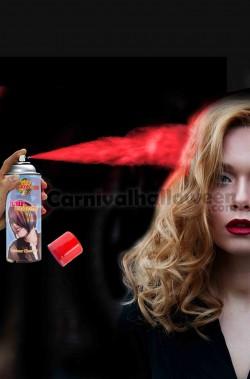 Colore per capelli spray lacca colore rosso