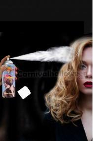 Colore per capelli spray lacca colore bianco
