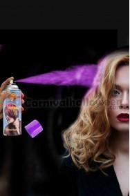 Colore per capelli spray lacca colore viola