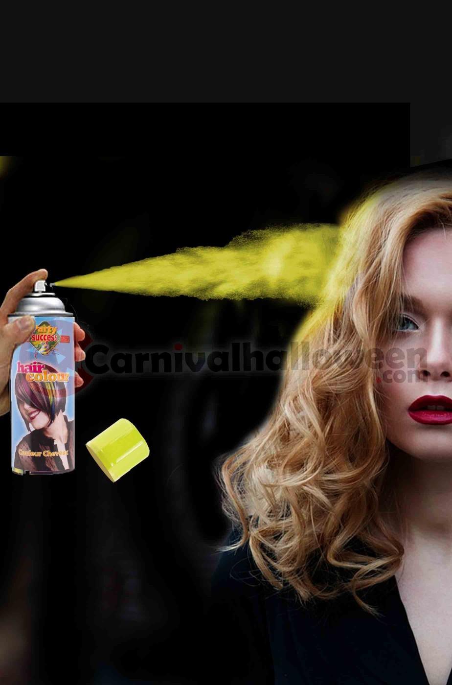 Colore per capelli spray lacca colore giallo